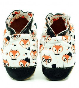 Soft sole ekoTuptusie COTTON red fox