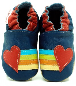 Soft Sole Baby Shoes RAINBOW