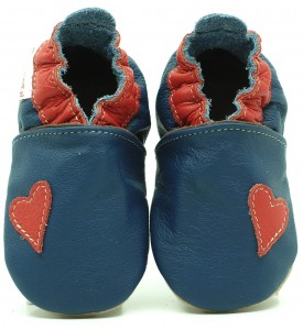 Soft Sole Baby Shoes HEART SIMPLICITY