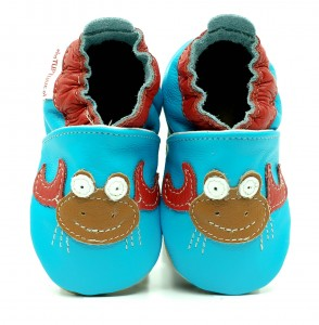 Soft Sole Baby Shoes CHARMING CRAB