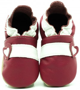 Soft Sole Baby Shoes RETRO PINK
