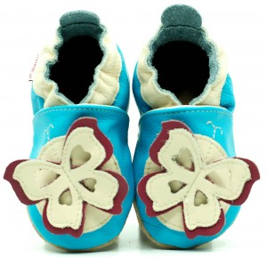 Soft Sole Baby Shoes FABULOUS BUTTERFLY