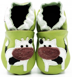 Soft Sole Baby Shoes HAPPY COW