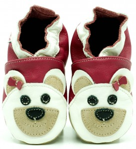 Soft Sole Baby Shoes MISS BEAR