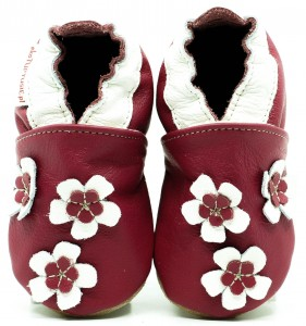 Soft Sole Baby Shoes GERANIUM