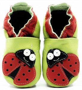 Soft Sole Baby Shoes LADYBUG