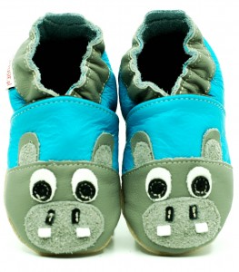 Soft Sole Baby Shoes HIPPO