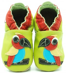 Soft Sole Baby Shoes PARROT