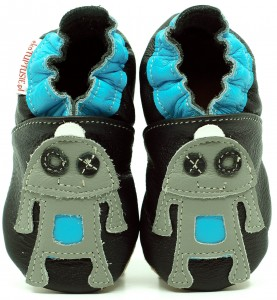 Soft Sole Baby Shoes ROBOT