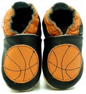Soft Sole Baby Shoes BASKETBALL BALL