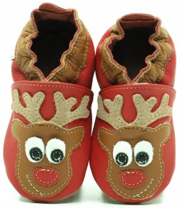 Soft Sole Baby Shoes REINDEER