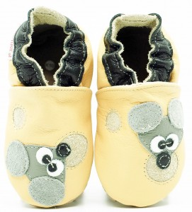 Soft Sole Baby Shoes FRANCIS THE MOUSE