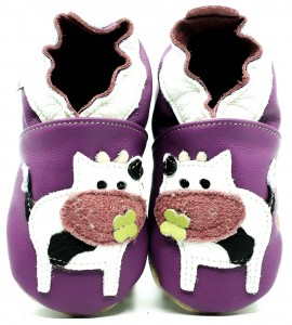 Soft Sole Baby Shoes MATILDA THE COW
