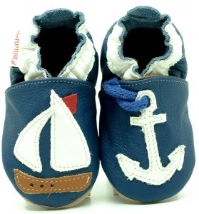 Soft Sole Baby Shoes ANCHOR