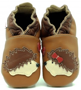 Soft Sole Baby Shoes OH HEDGEHOG!