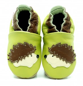 Soft Sole Baby Shoes HEDGEHOG