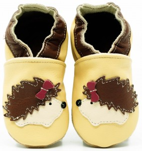 Soft Sole Baby Shoes MISS HEDGEHOG