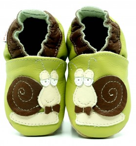 Soft Sole Baby Shoes MR SNAIL