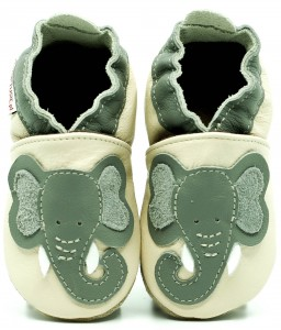 Soft Sole Baby Shoes DUMBO ON CREAM