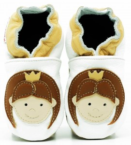 Soft Sole Baby Shoes PRINCESS EMILY