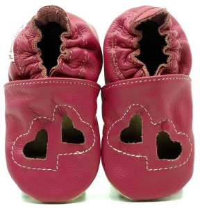 Soft Sole Baby Shoes SANDALS TWO HEARTS