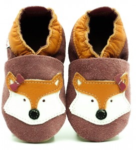 Soft Sole Baby Shoes MISS FOX