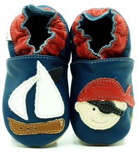 Soft Sole Baby Shoes PIRATE