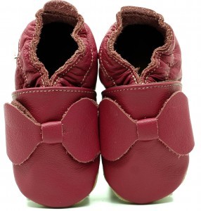 Soft Sole Baby Shoes PINK BOW