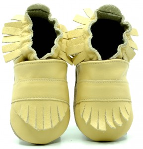 Soft Sole Baby Shoes BOHO YELLOW