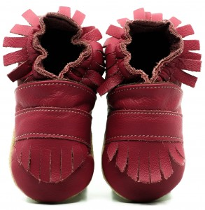 Soft Sole Baby Shoes BOHO PINK