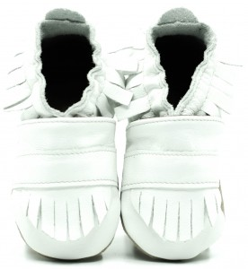 Soft Sole Baby Shoes BOHO WHITE