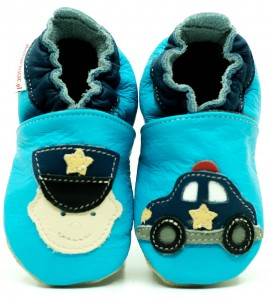 Soft Sole Baby Shoes POLICEMAN