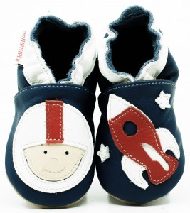 Soft Sole Baby Shoes COSMONAUT
