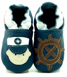 Soft Sole Baby Shoes CAPTAIN