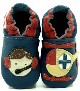 Soft Sole Baby Shoes MOUNTAIN RESCUER