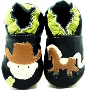 Soft Sole Baby Shoes COWBOY