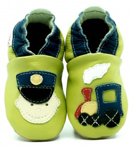 Soft Sole Baby Shoes RAILWAYMAN