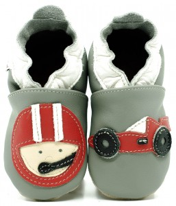 Soft Sole Baby Shoes RALLY DRIVER