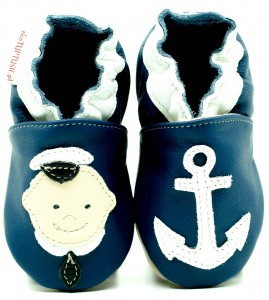 Soft Sole Baby Shoes SAILOR