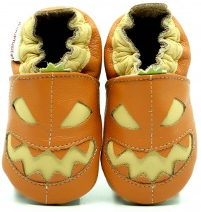 Soft Sole Baby Shoes PUMPKIN