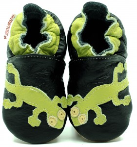 Soft Sole Baby Shoes GECKO