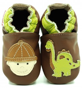 Soft Sole Baby Shoes ARCHEOLOGIST