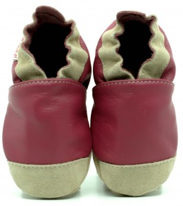 Soft Sole Baby Shoes NOSES PINK