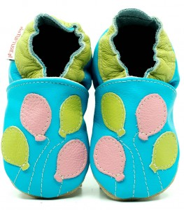Soft Sole Baby Shoes BALLOONS