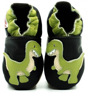 Soft Sole Baby Shoes GREEN REX