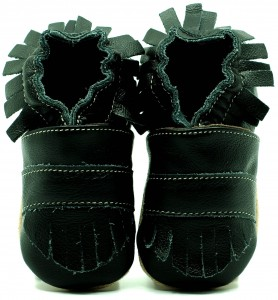 Soft Sole Baby Shoes BOHO BLACK