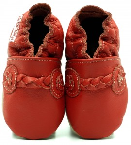 Soft Sole ADULT Shoes FOLK RED