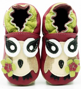 Soft Sole ADULT Shoes PINK OWL