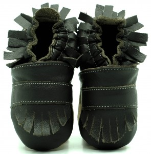 Soft Sole Baby Shoes BOHO CHOCO