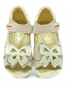 ekoTuptusie Shoes silver butterfly